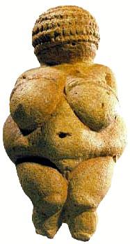 Venus úr Willendorf, so lítil sum ein hond