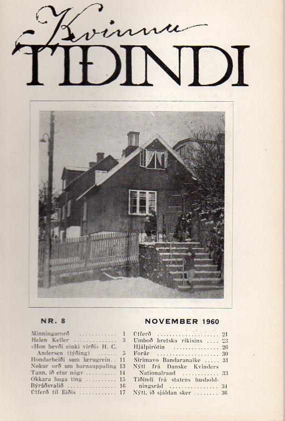 nr. 8, 1960 november